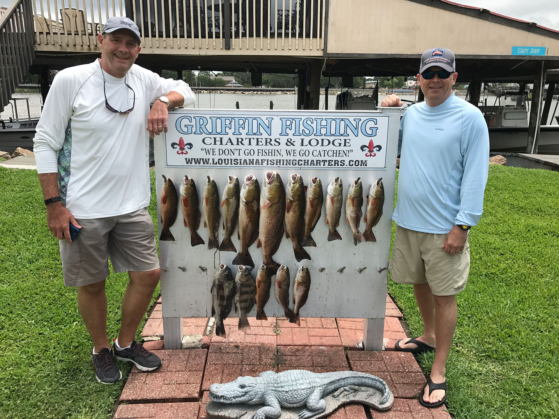 New orleans louisiana fishing charters lodge griffin for La fishing charters