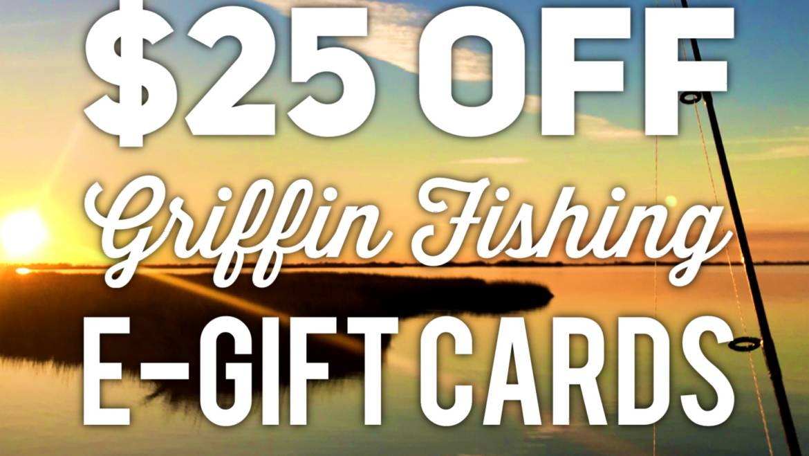 Louisiana Fishing Charters for Christmas Gifts!