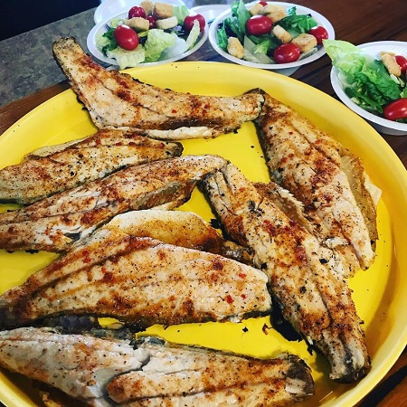 Fresh Grilled Redfish