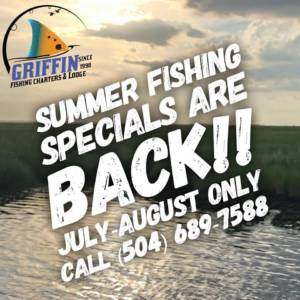 Summer Fishing Specials