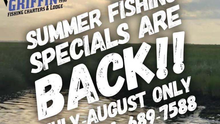Summer Fishing Specials